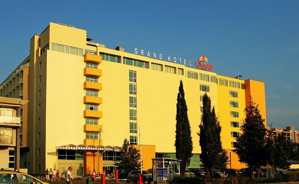 Oasis hotel болгария солнечный берег
